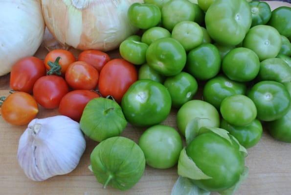 Fire Roasted Tomatillo Salsa