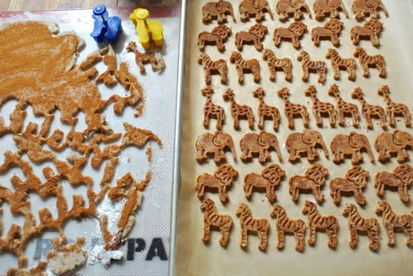 Cinnamon Date Animal Cookies