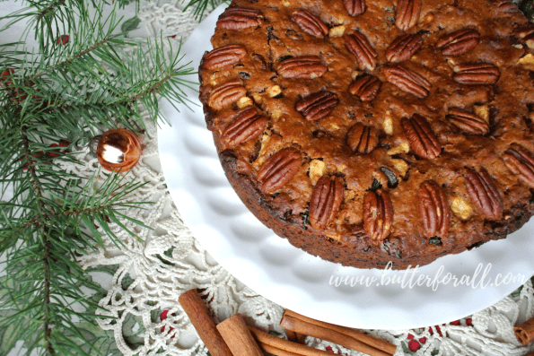 A nourishing fruit cake sweetened with real honey and dried fruit.