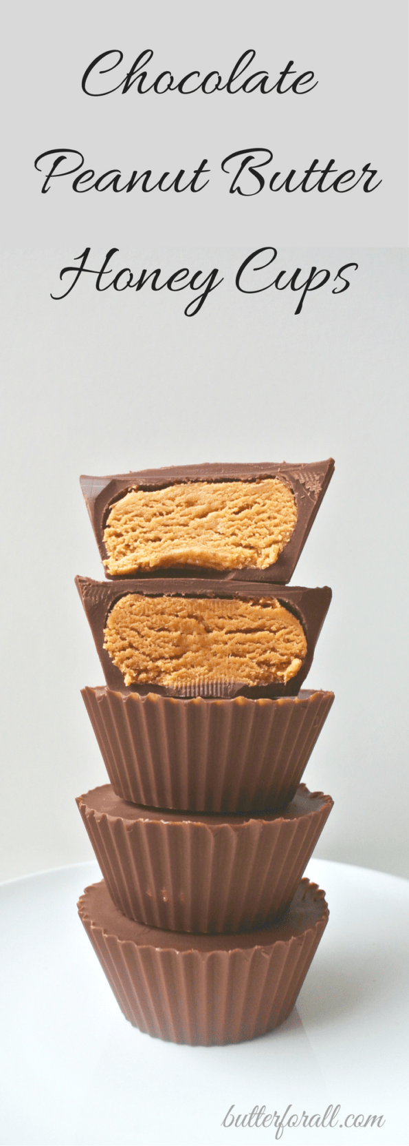 Chocolate Peanut Butter Honey Cups