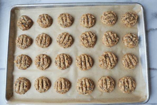 Chewy Cranberry Walnut Cookies, Made iIn You Food Processor