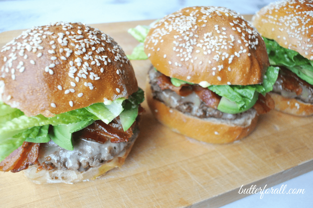 Soft And Chewy Sourdough Burger Buns