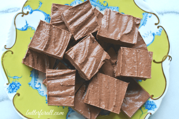 Chocolate Coconut Butter Butter Fudge