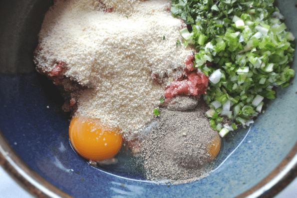 Spring Garlic And Oregano Meatballs