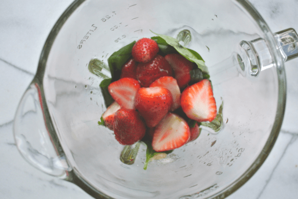Strawberry Basil Vinaigrette - Dressing, Dipping Sauce And Marinade