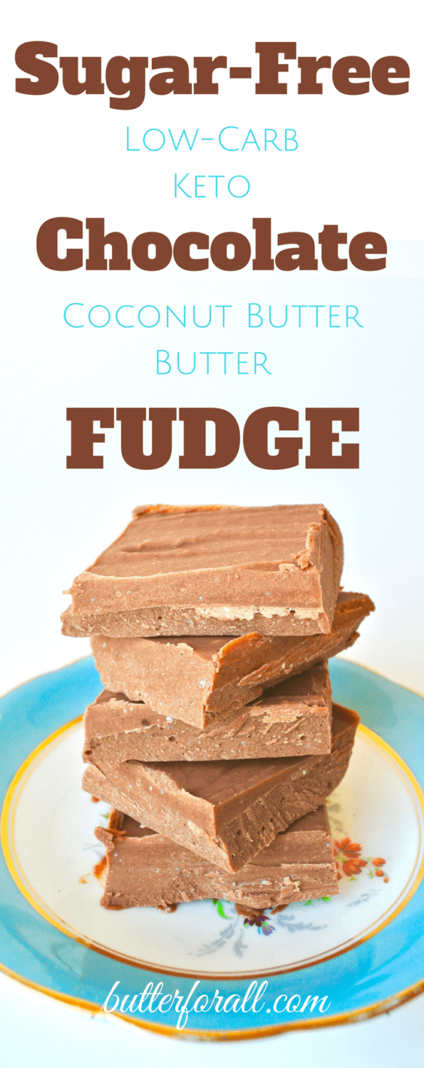 Sugar-Free Coconut Butter Fudge - Low-Carb And Keto Friendly