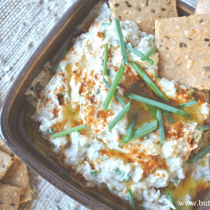 A delicious low-carb, grain-free, vegan and paleo dip made from roasted eggplants and tahini.