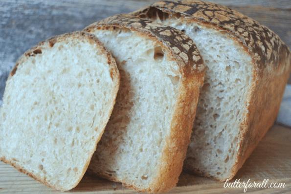 Perfect Butter Top Sourdough Sandwich Bread