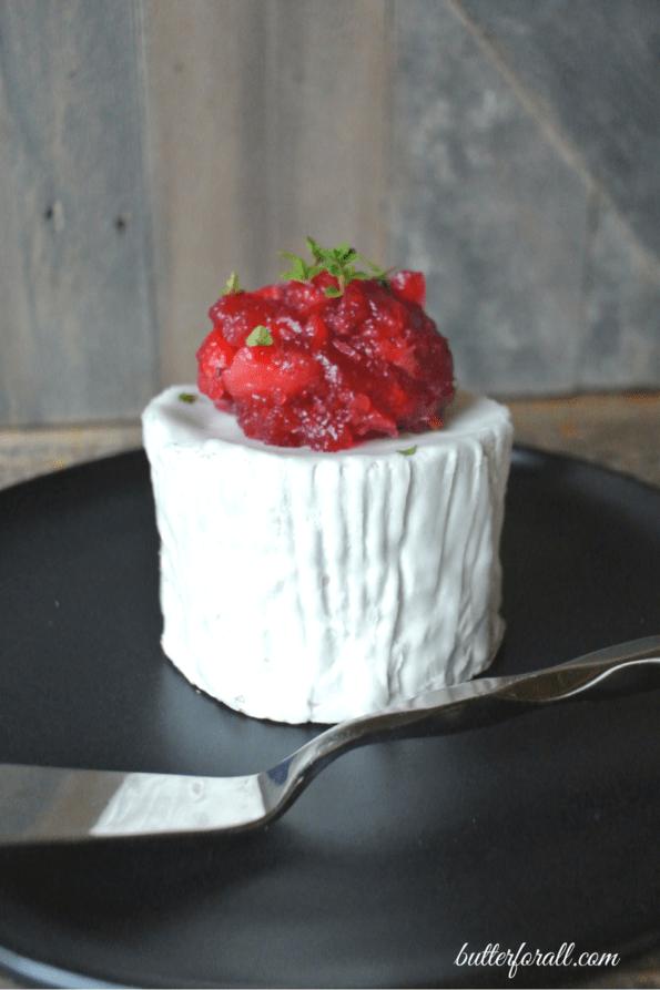 Lacto-Fermented Cranberry Salad