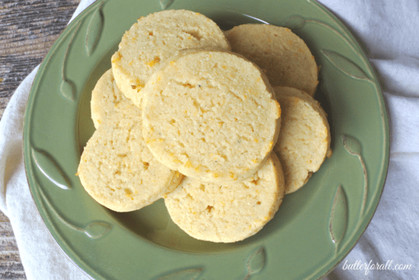 Grain-Free Orange Cream And Cardamom Cookies