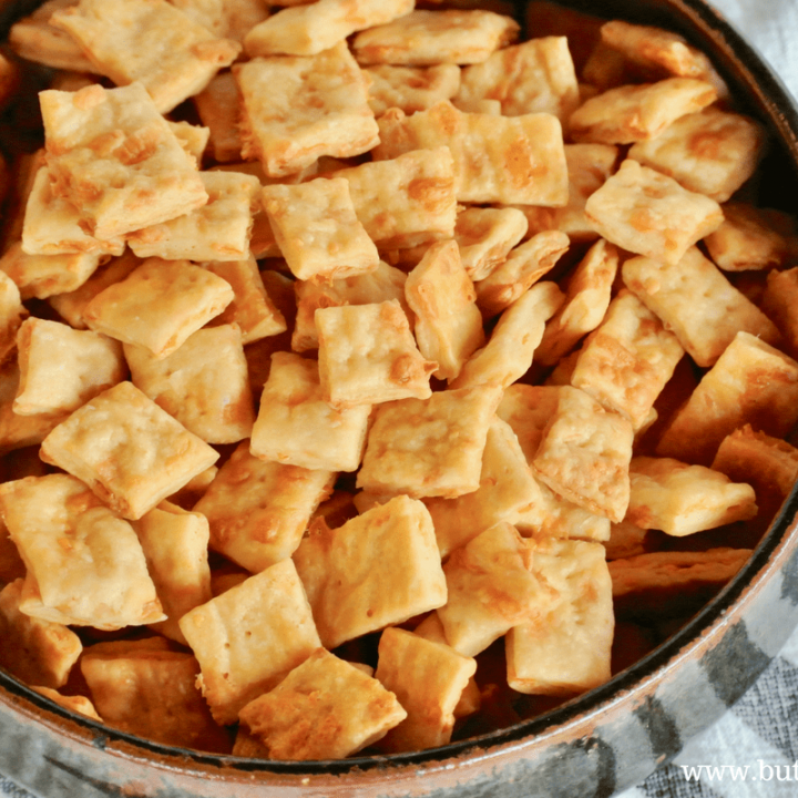 The perfect, traditionally fermented, cheesy snack cracker.
