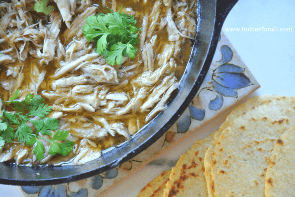 The most flavorful, rich and succulent stewed chicken in broth.
