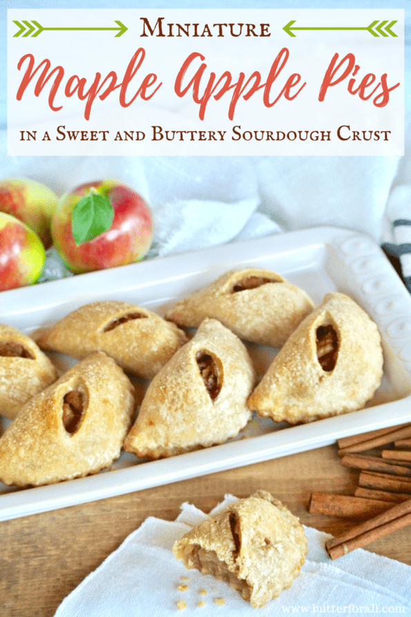 These mini apple pies are the perfect hand held treat for kids, parties, gatherings and snacks!