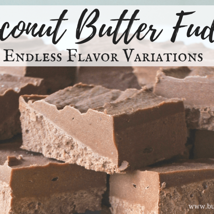 This easy coconut butter fudge is made with only 4 real-food ingredients and comes together in minutes!