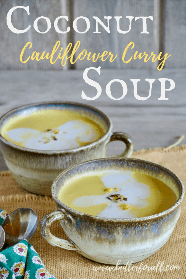 This easy 7 ingredient Coconut Curry Soup is packed with flavor and healthy fats! #keto #lowcarb #dairyfree #nourishing #realfood