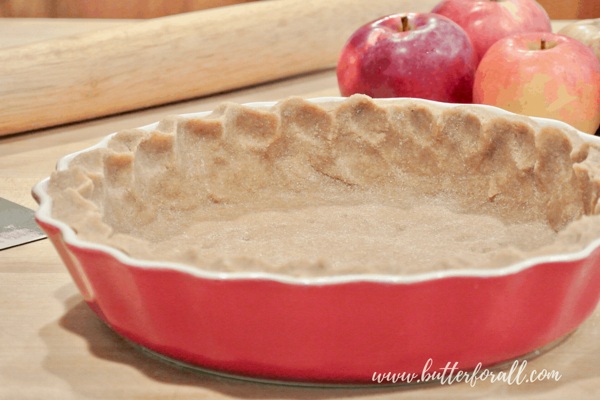 The Perfect Sprouted Whole Wheat Pastry Crust