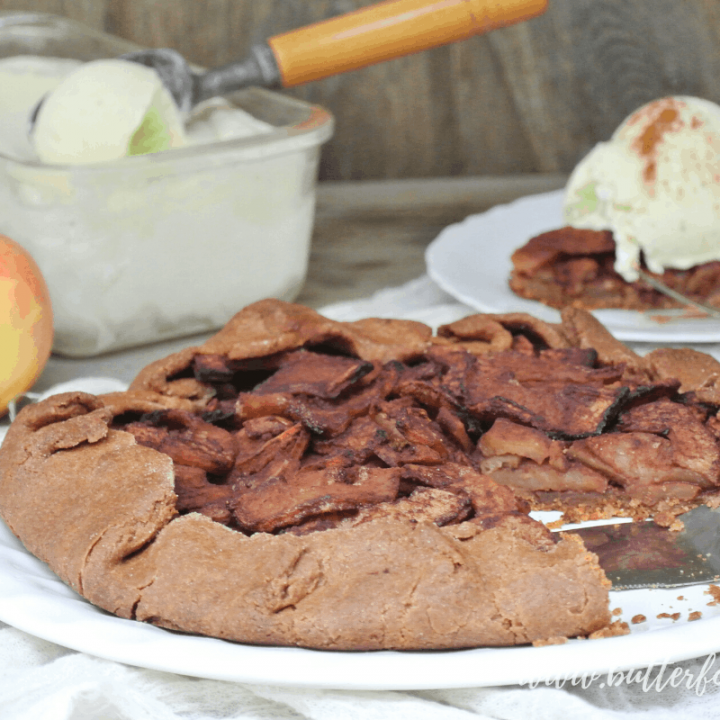 Simple and Nourishing Apple Galette in a Sprouted Whole Wheat Pastry Crust