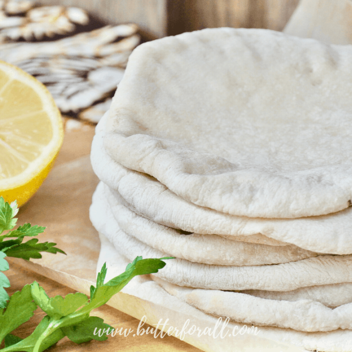 Real Sourdough Pita Bread