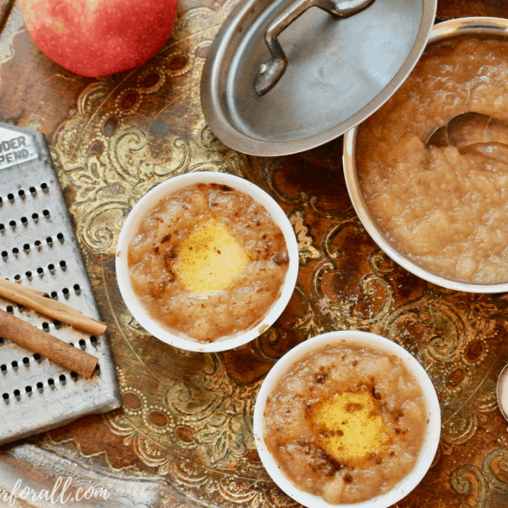 Hot Buttered Apple Sauce