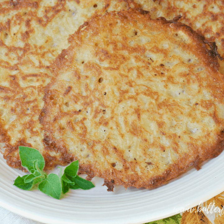 This easy 7 ingredient sourdough batter makes a perfect Sourdough Potato Pancake with a soft chewy center and crispy crunchy exterior. #Latkes #Breakfast #Brunch #Starter #fermented #sourdough #batter #pancake #potato #savory #applesauce #sourcream #cultured #realfood #wapf #nourishingtraditions #sourdoughforlife #sidedish #snack #healthy #traditional