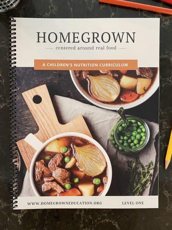 Homegrown curriculum workbook