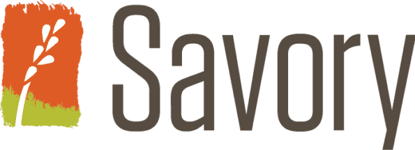 Savory Institute logo with grass.